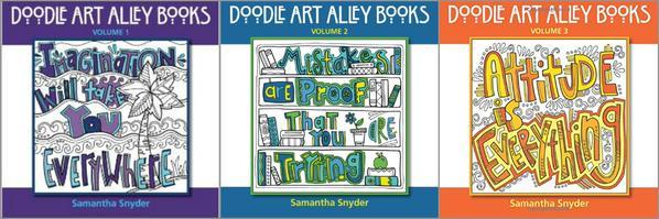 Doodle Art Alley series 1-3