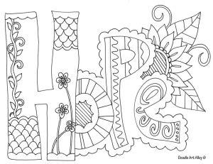 Hope - Doodle Art Alley